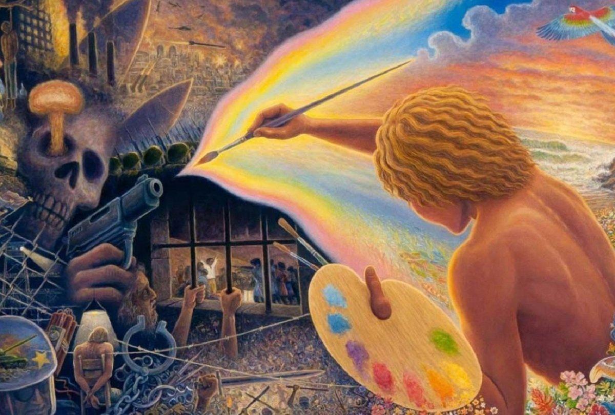 Как Внутренний Мир человека прорывается во Внешний Мир